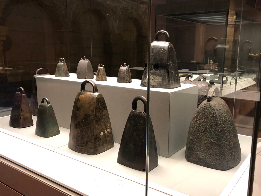 Bells similar to An Clogh Dubh - the black bell of the McEnhill clan